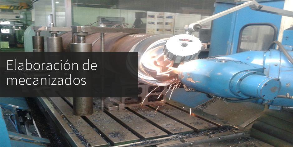 maquinas de mecanizado elaboracion